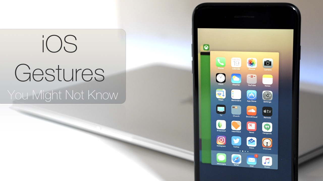 10 iPhone and iPad Gestures You Might Not Know
