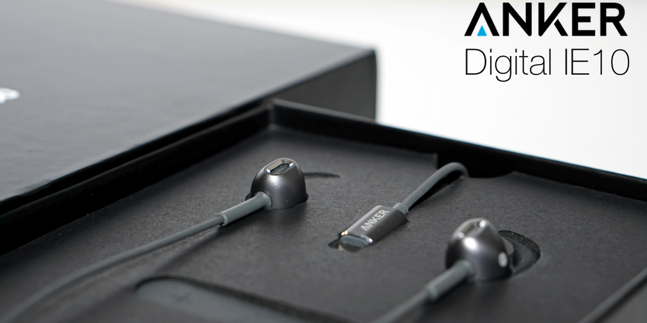 Anker IE10 Digital Lightning Earbuds