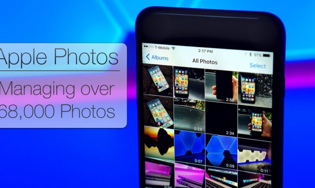 Apple Photos – Managing over 68,000 photos in iCloud