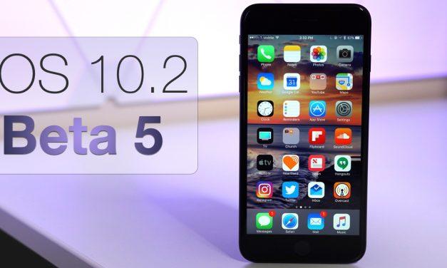 iOS 10.2 Beta 5 – What's New?