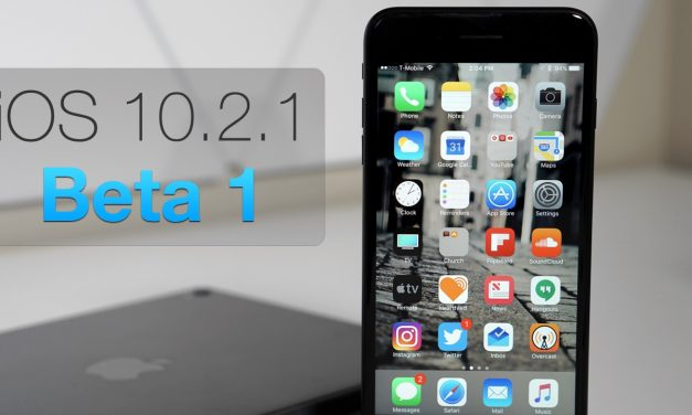 iOS 10.2.1 Beta 1 – What's New?