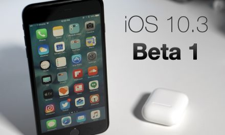 iOS 10.3 Beta 1 – What's New?