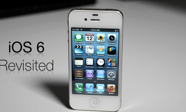 iOS 6 Revisited – The End of The Steve Jobs Era