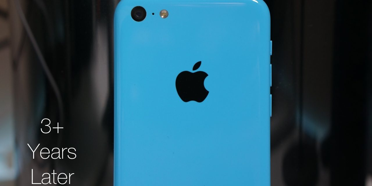 iPhone 5c – Over 3 Years Later