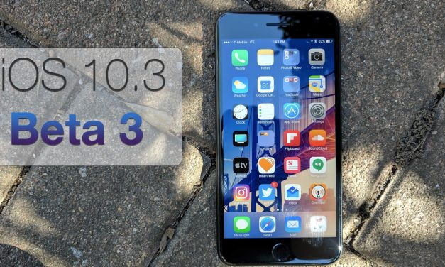 iOS 10.3 Beta 3 – What's New?