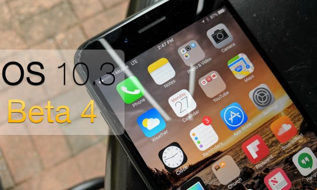 iOS 10.3 Beta 4 – What's New?