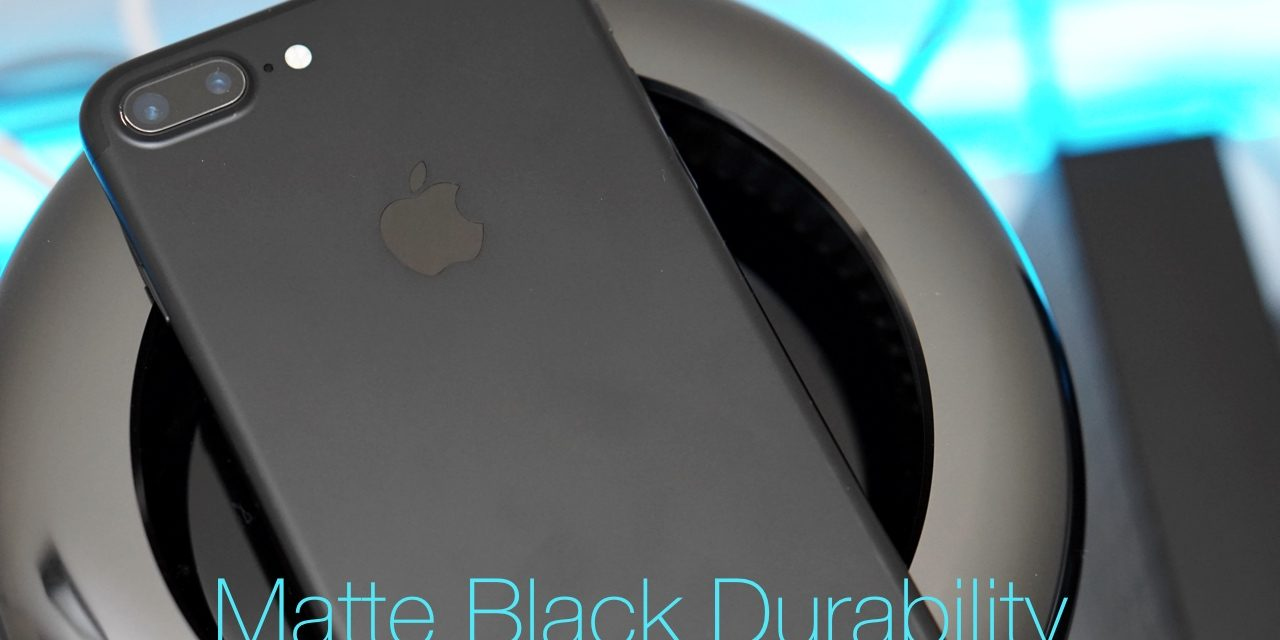 iPhone 7 Plus – Matte Black Durability