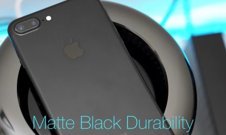 iPhone 7 Plus – Matte Black Durability