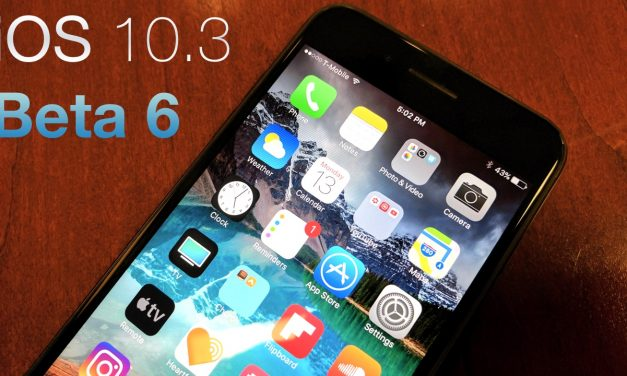 iOS 10.3 Beta 6 – What's New?
