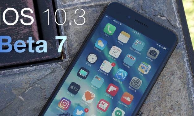 iOS 10.3 Beta 7 – What's New?