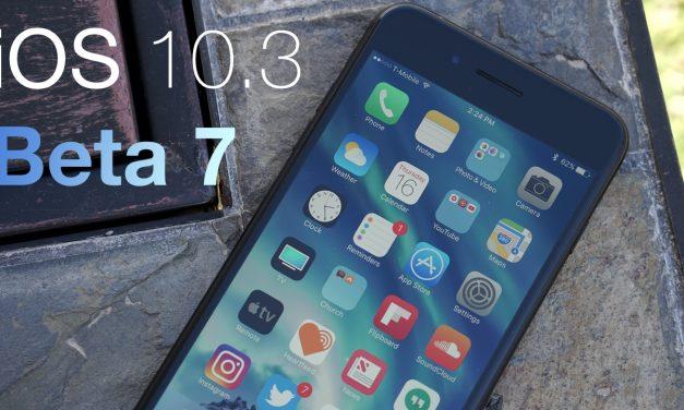 iOS 10.3 Beta 7 – What's New?