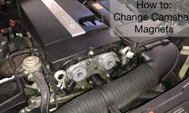 How To Change Mercedes W203 m271 Camshaft Magnets