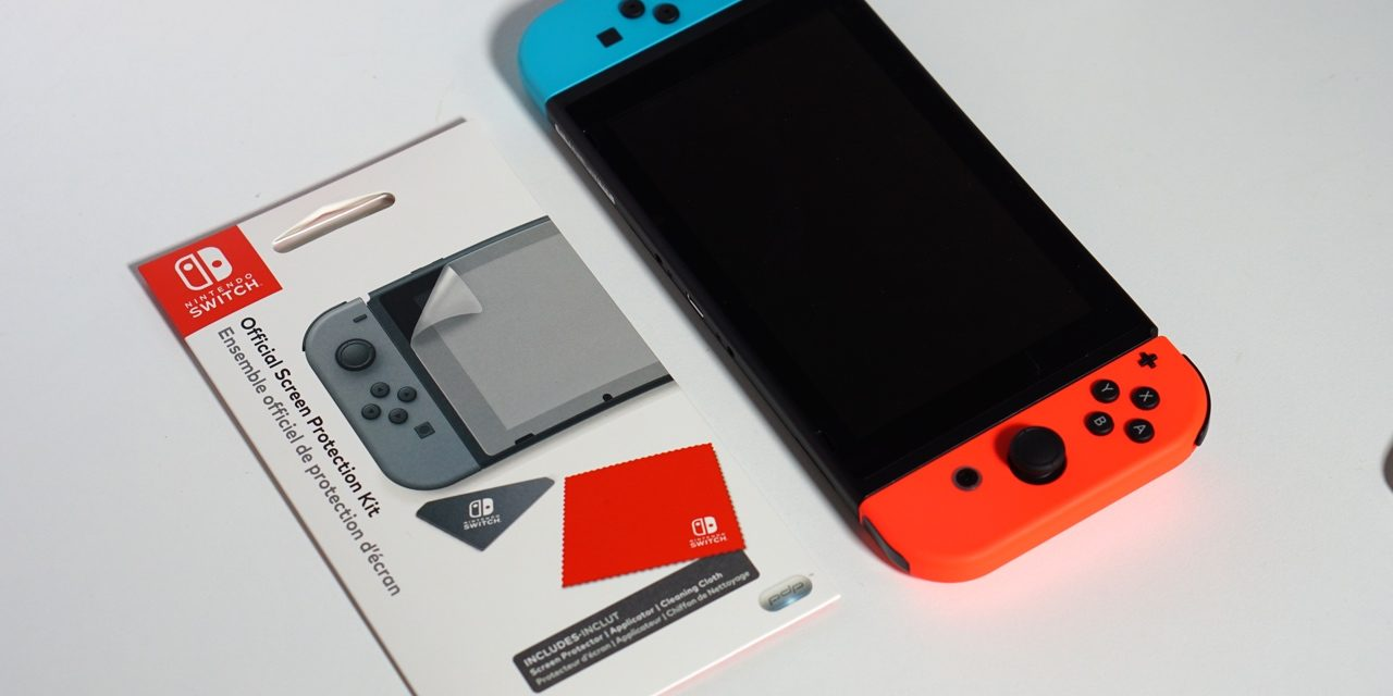 Official Nintendo Switch Screen Protector – Not So Great
