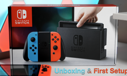 Nintendo Switch Unboxing and First Setup