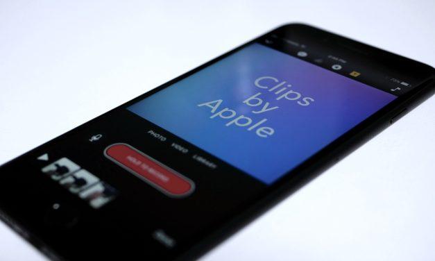 Apple's New Clips App