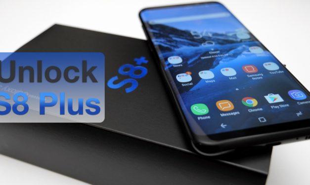 How To Unlock Samsung Galaxy S8 Plus