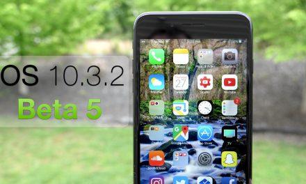 iOS 10.3.2 Beta 5 – What's New?