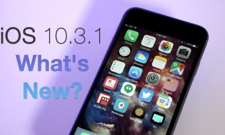 iOS 10.3.1 is Out! – What's New?