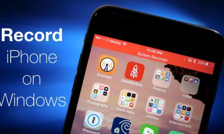 How To Record iPhone on Windows