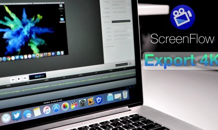 How To Export 4K / 4K60P In ScreenFlow