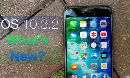 iOS 10.3.2 is Out! – What's New?