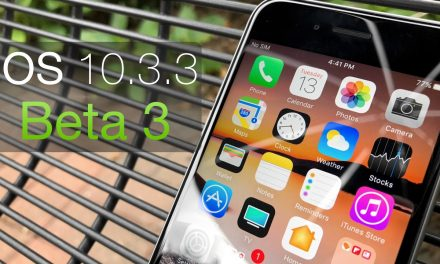 iOS 10.3.3 Beta 3 – What's New?