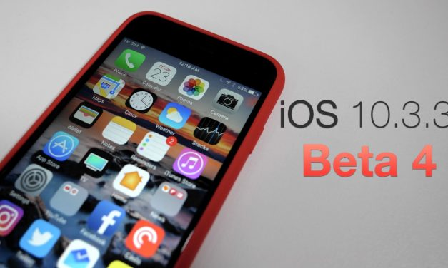 iOS 10.3.3 Beta 4 – What's New?