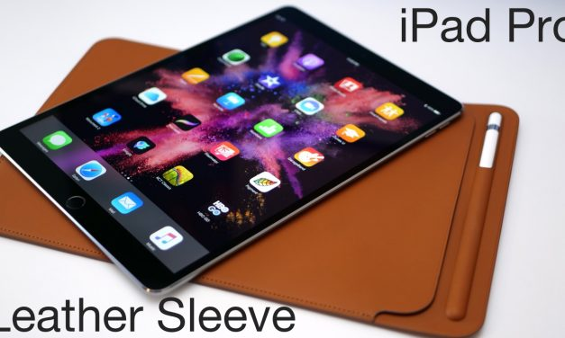 iPad Pro Leather Sleeve – Apple's Most Expensive Case