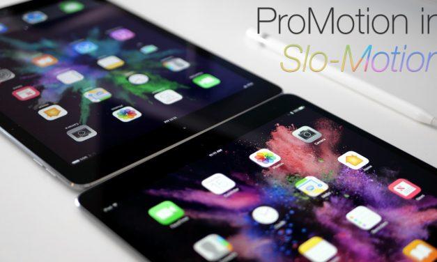 iPad ProMotion In Slow Motion (4K60)