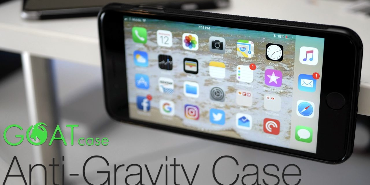 An iPhone Case that Stick To Just About Anything