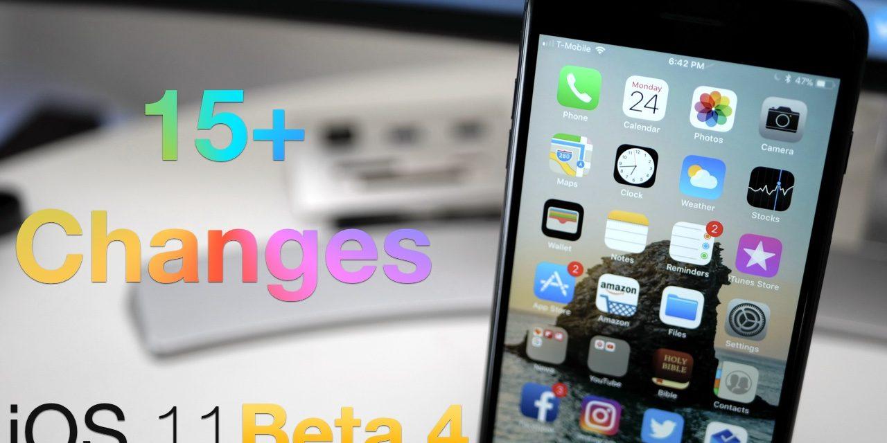 iOS 11 Beta 4 – What's New?