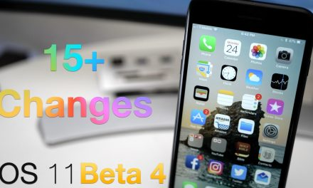 iOS 11 Beta 4 – What's New?