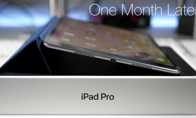 iPad Pro 10.5 – One Month Later