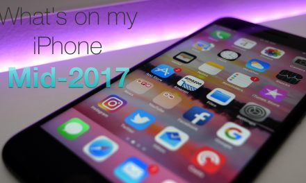 What's On My iPhone? – Mid 2017