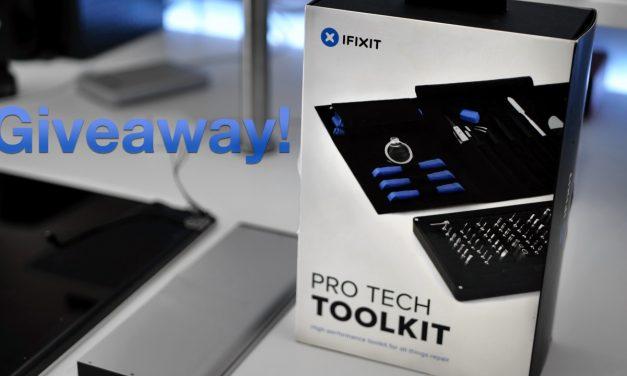 Giveaway – iFixit Pro Tech Toolkit (International)