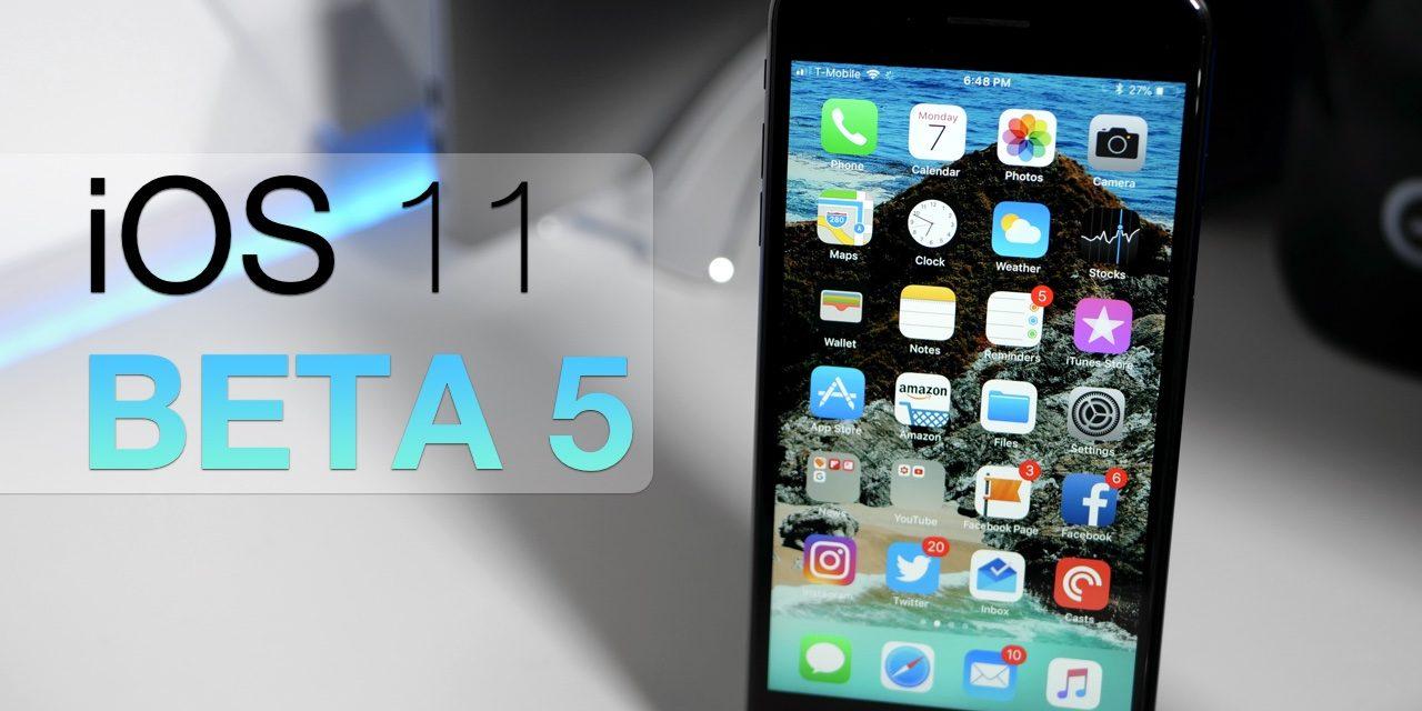 iOS 11 Beta 5 – What's New?