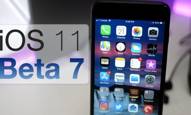 iOS 11 Beta 7 – What's New?
