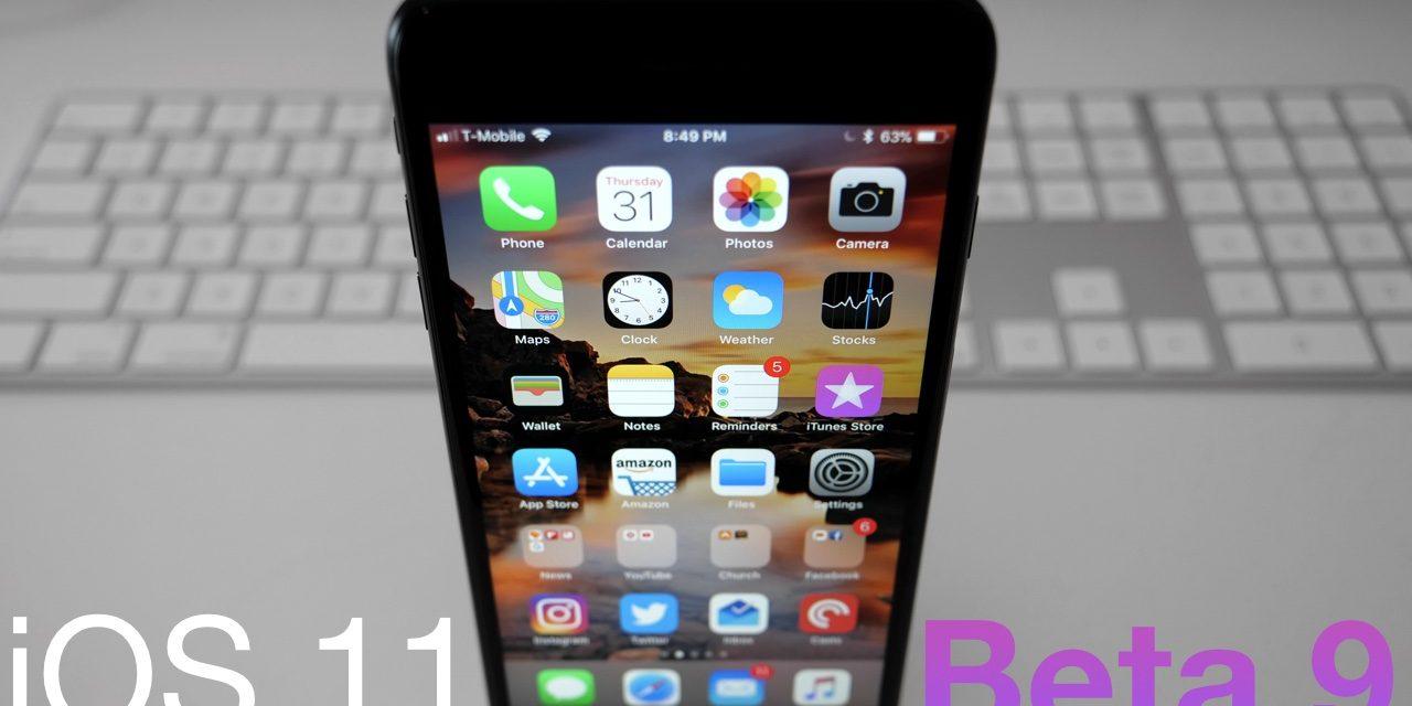 iOS 11 Beta 9 – What's New?
