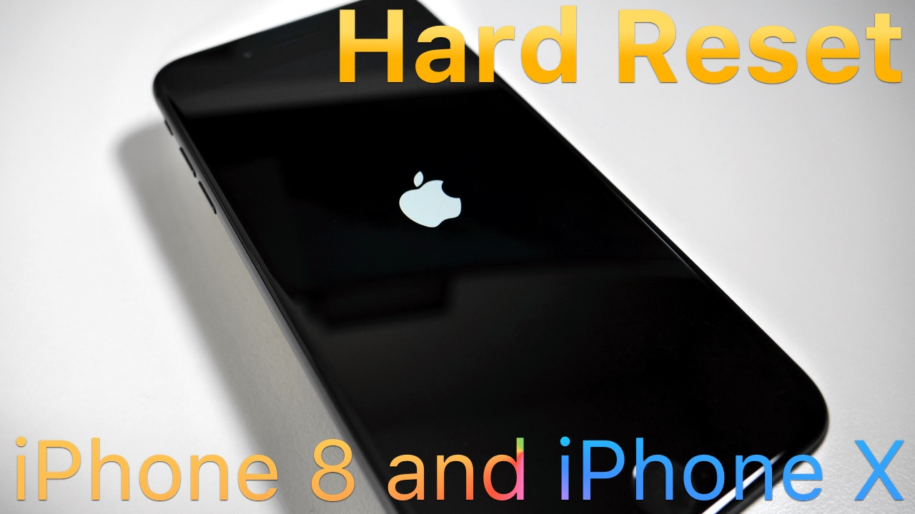 How To Hard Reset iPhone 8 8 Plus amp X Zollotech