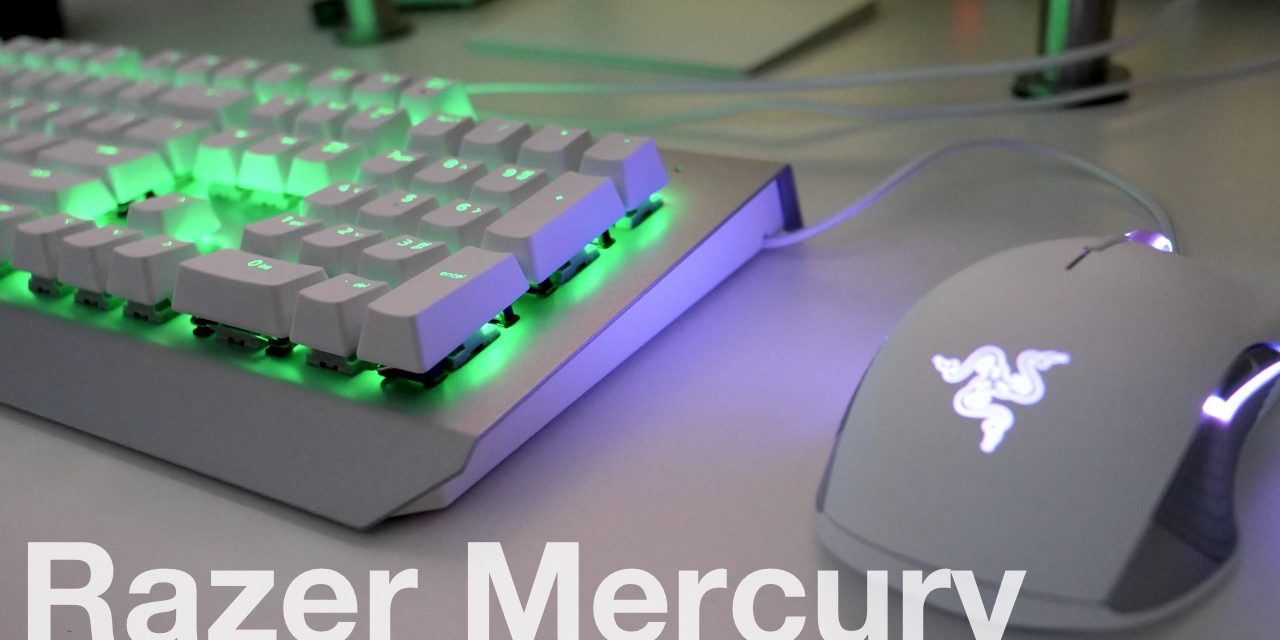 Razer Mercury Mouse and Keyboard – Unboxing and First Look