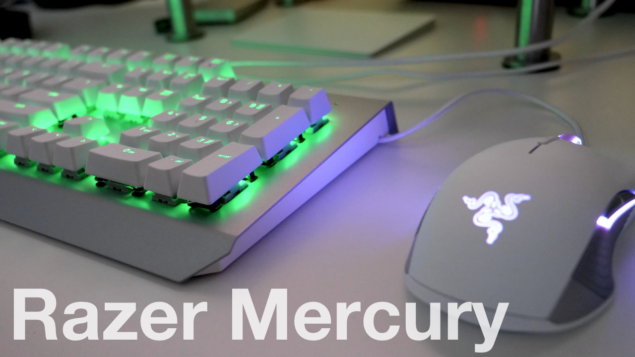 Razer Mercury Mouse And Keyboard Unboxing And First Look