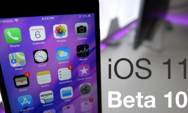 iOS 11 Beta 10 – What's New?