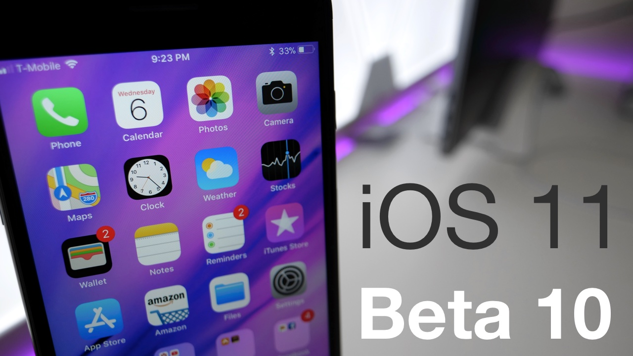 Grab The Ios 11 Default Wallpaper: IOS 11 Beta 10 – What's New?
