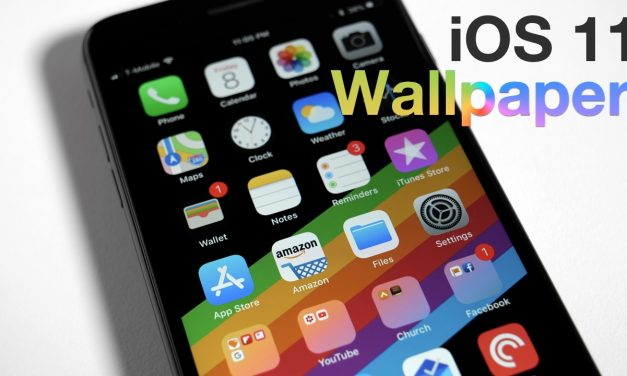 iOS 11 – New Wallpaper Leaked | Download Link