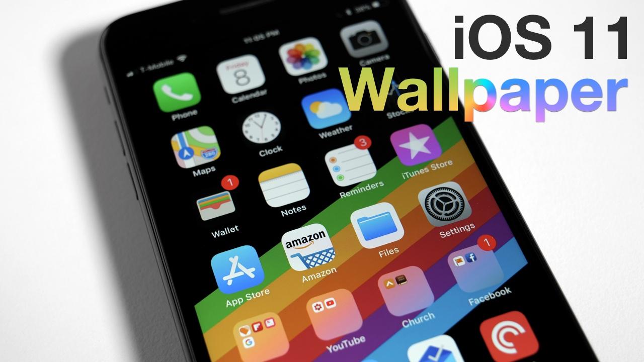 Grab The Ios 11 Default Wallpaper: IOS 11 – New Wallpaper Leaked