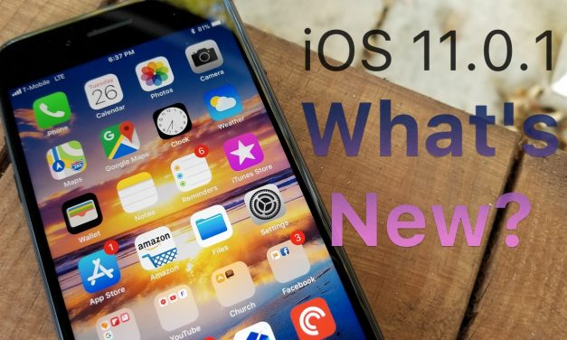 iOS 11.0.1 is Out! – What's New?