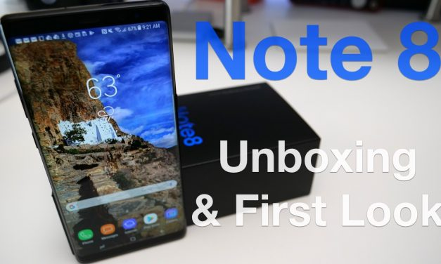 Note 8 – Unboxing and First Look
