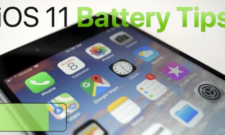 iOS 11 Battery Tips