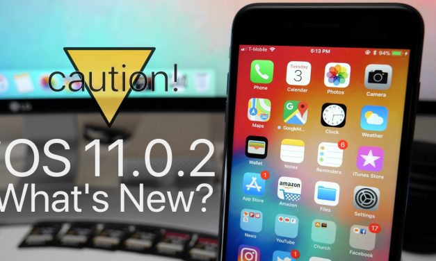 iOS 11.0.2 is Out! – What's New?