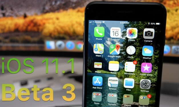 iOS 11.1 Beta 3 – What's New?